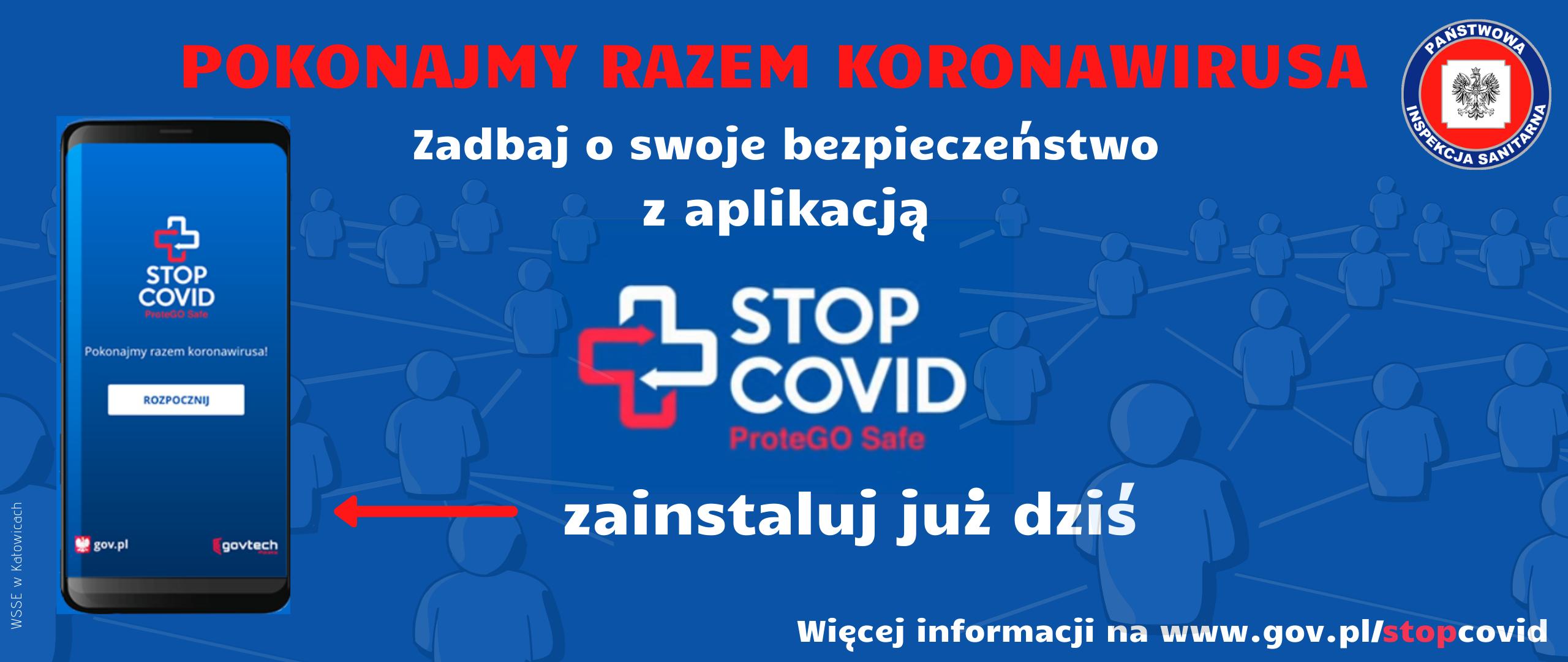 baner aplikacji StopCovid